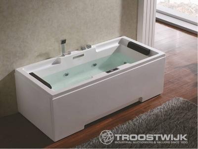 Luxury wellness LW-WP214 2-persoons massagebad