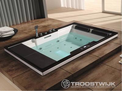 Luxury wellness LW-WP-221 2-persoons inbouw massagebad