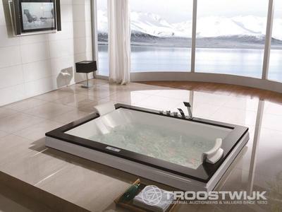 Luxury wellness LW-WP-230 2-persoons inbouw massagebad