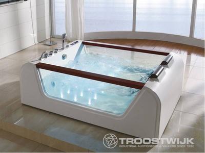 Luxury wellness LW-WP-216 2-persoons vrijstaand design massagebad