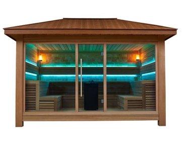 Sauna In Huis : Outdoor sauna huis lw os luxury wellness partner