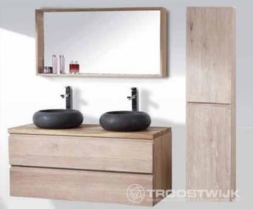 Luxury wellness lw bm e b massief eiken badkamermeubel